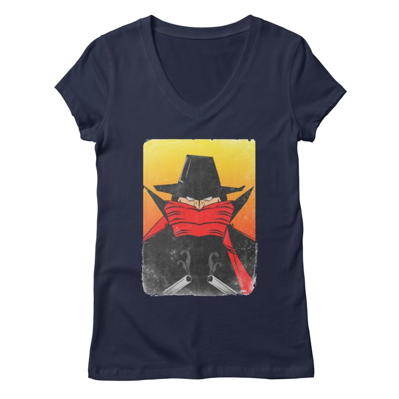 The Shadow Women's V-Neck by TheImaginativeHobbyist's Artist Shop