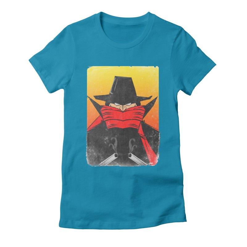 The Shadow Women's Fitted T-Shirt by TheImaginativeHobbyist's Artist Shop
