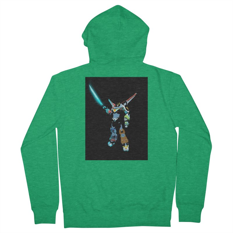 VOLTRON Women's Zip-Up Hoody by TheImaginativeHobbyist's Artist Shop