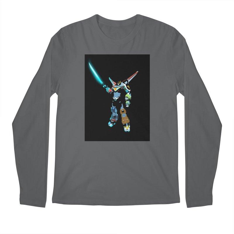 VOLTRON Men's Longsleeve T-Shirt by TheImaginativeHobbyist's Artist Shop