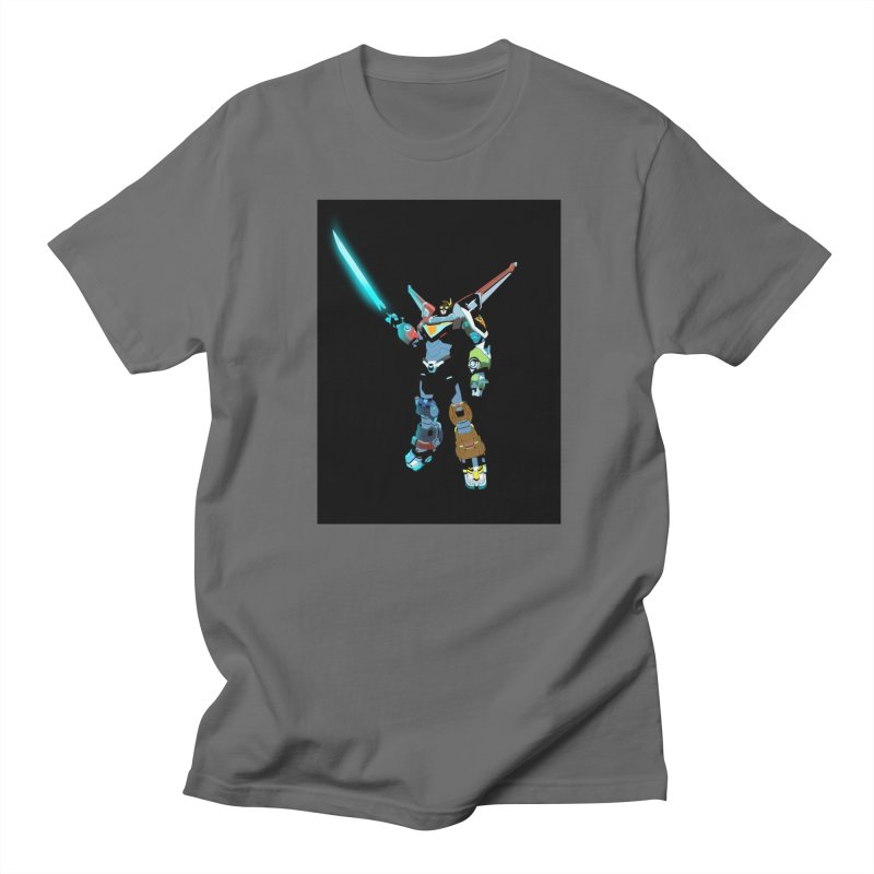 VOLTRON Men's T-Shirt by TheImaginativeHobbyist's Artist Shop