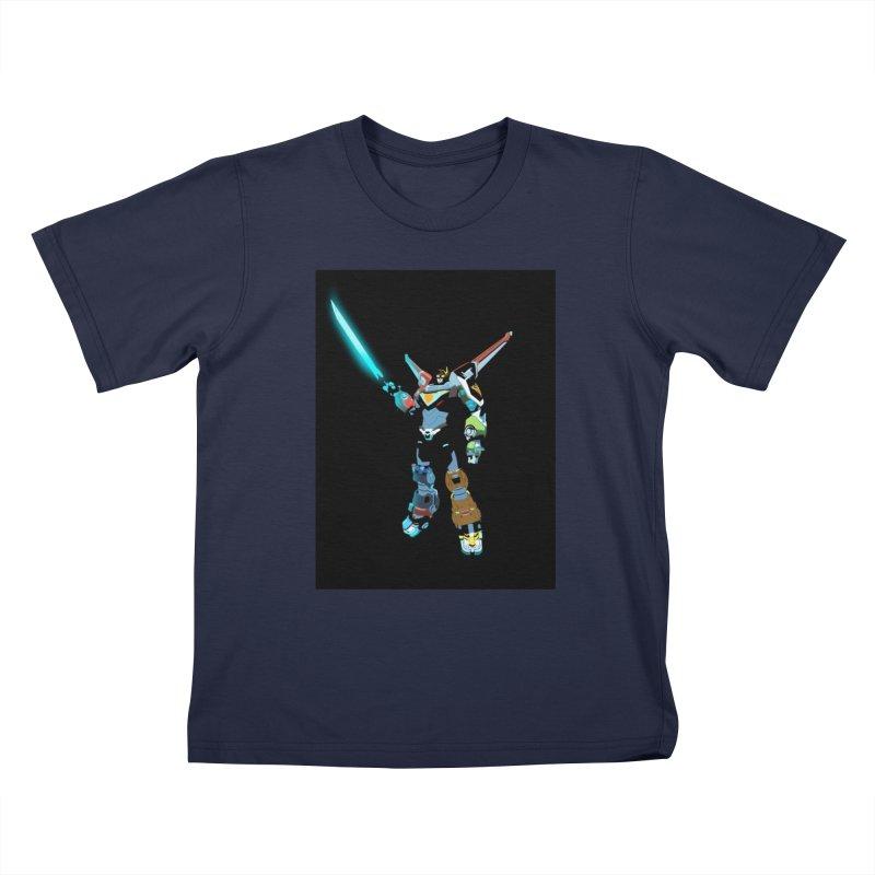 VOLTRON Kids T-Shirt by TheImaginativeHobbyist's Artist Shop