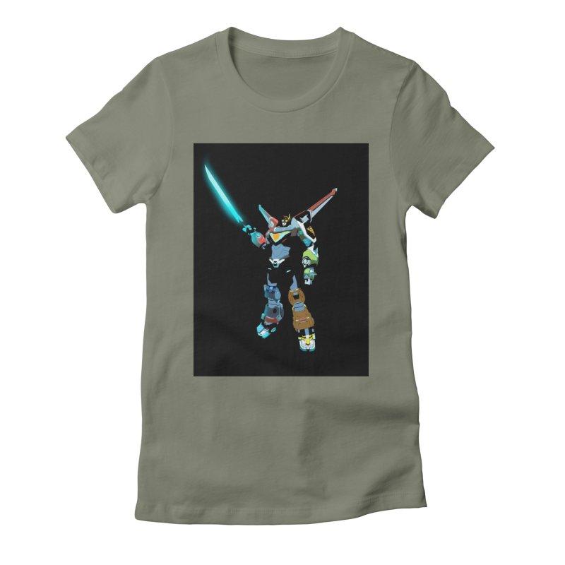 VOLTRON Women's T-Shirt by TheImaginativeHobbyist's Artist Shop