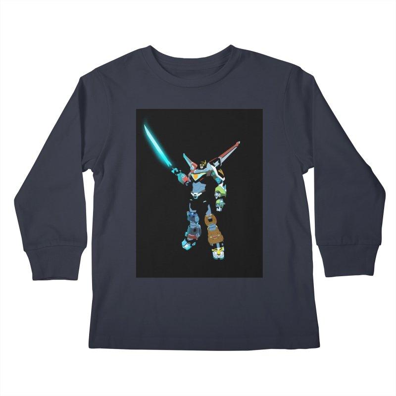VOLTRON Kids Longsleeve T-Shirt by TheImaginativeHobbyist's Artist Shop