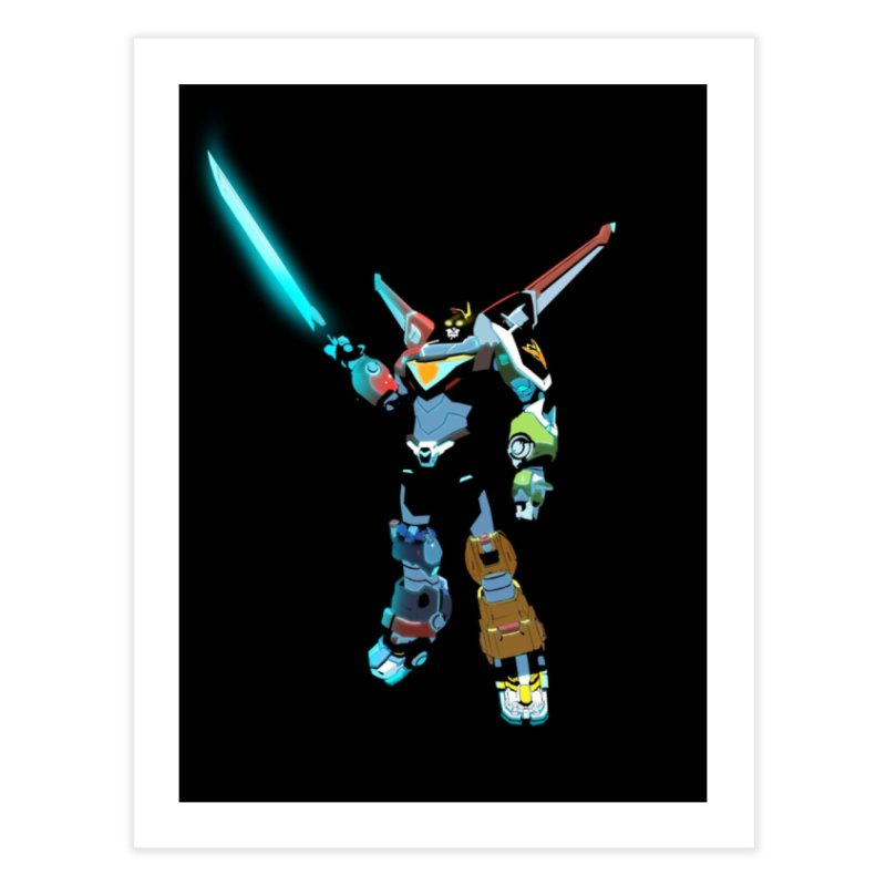 VOLTRON Home Fine Art Print by TheImaginativeHobbyist's Artist Shop