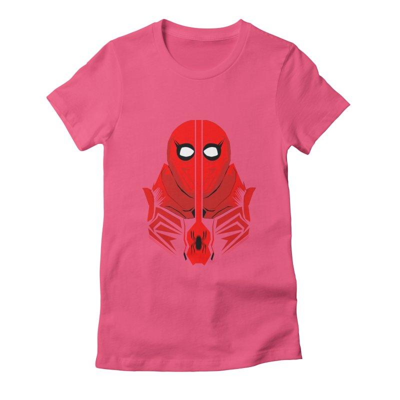 Spider-Man - Homecoming  Women's Fitted T-Shirt by TheImaginativeHobbyist's Artist Shop