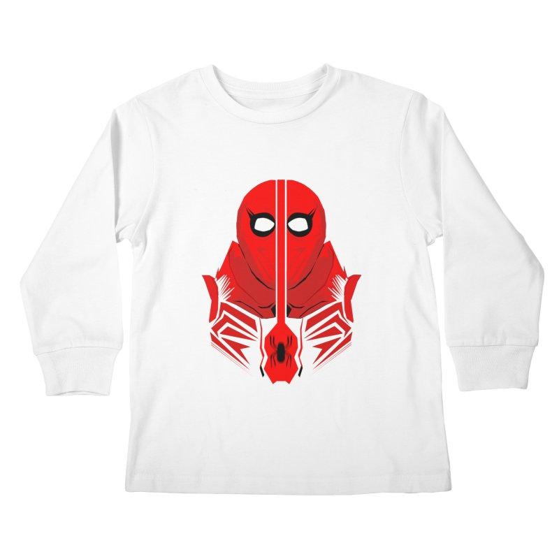Spider-Man - Homecoming  Kids Longsleeve T-Shirt by TheImaginativeHobbyist's Artist Shop