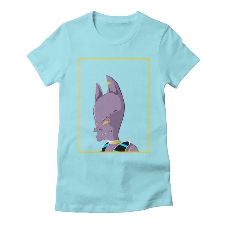 Lord Beavis Women's Fitted T-Shirt by TheImaginativeHobbyist's Artist Shop
