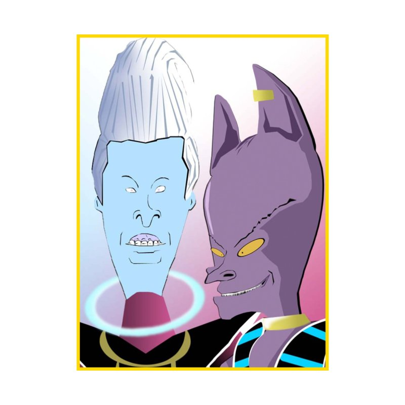 Lord Beavis and Whis-Head Home Fine Art Print by TheImaginativeHobbyist's Artist Shop