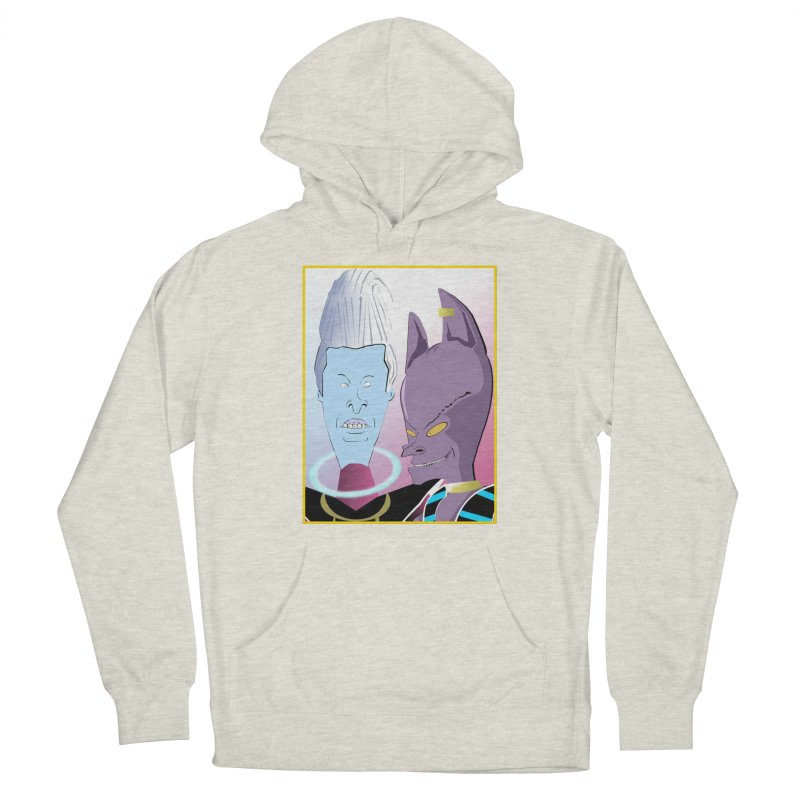 Lord Beavis and Whis-Head Women's Pullover Hoody by TheImaginativeHobbyist's Artist Shop