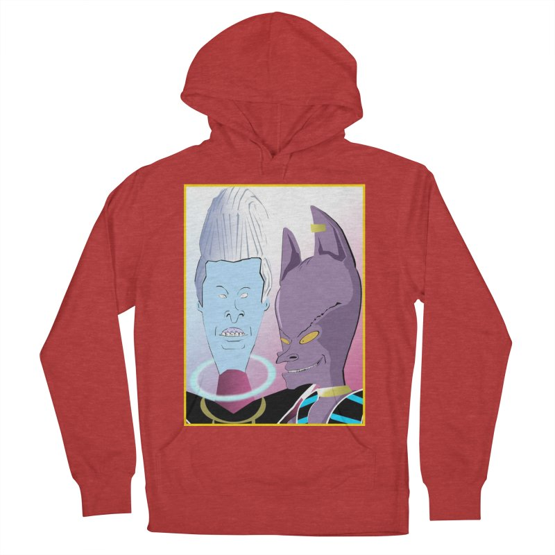 Lord Beavis and Whis-Head Women's French Terry Pullover Hoody by TheImaginativeHobbyist's Artist Shop