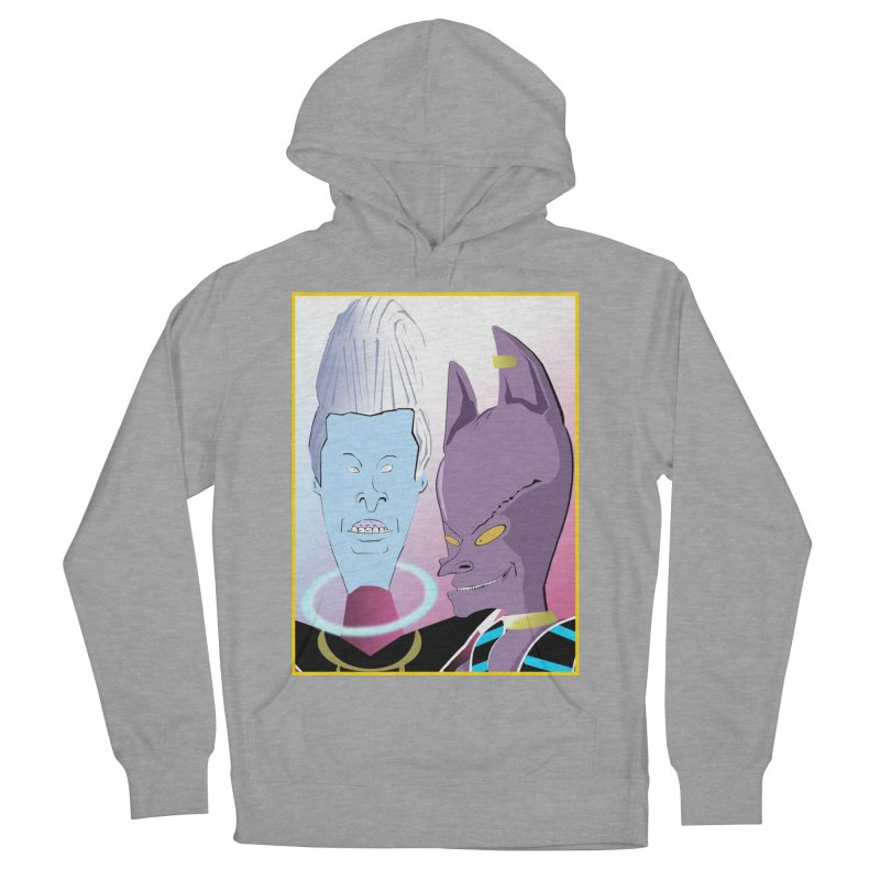 Lord Beavis and Whis-Head Men's French Terry Pullover Hoody by TheImaginativeHobbyist's Artist Shop