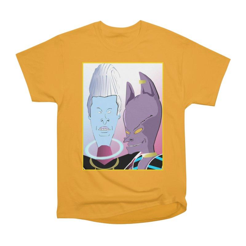 Lord Beavis and Whis-Head Women's Heavyweight Unisex T-Shirt by TheImaginativeHobbyist's Artist Shop