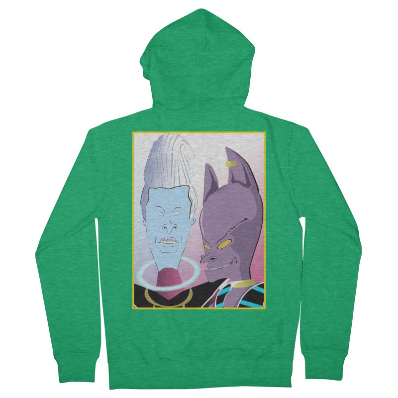 Lord Beavis and Whis-Head Women's Zip-Up Hoody by TheImaginativeHobbyist's Artist Shop
