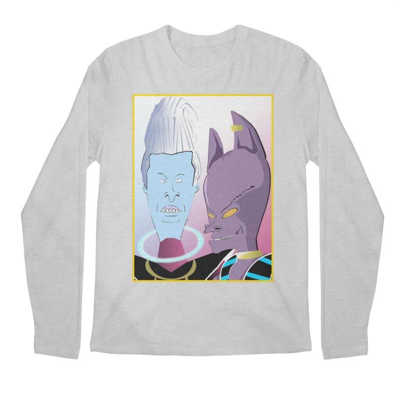 Lord Beavis and Whis-Head Men's Regular Longsleeve T-Shirt by TheImaginativeHobbyist's Artist Shop
