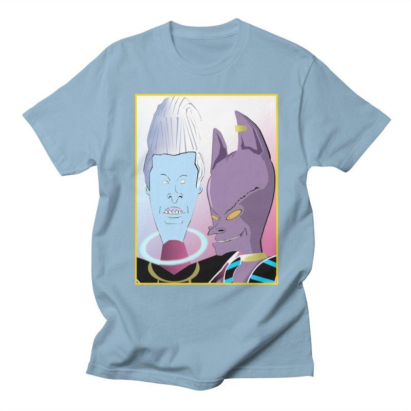 Lord Beavis and Whis-Head Men's Regular T-Shirt by TheImaginativeHobbyist's Artist Shop