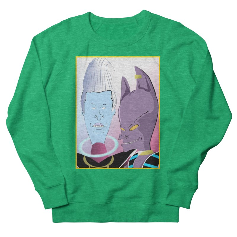 Lord Beavis and Whis-Head Women's Sweatshirt by TheImaginativeHobbyist's Artist Shop