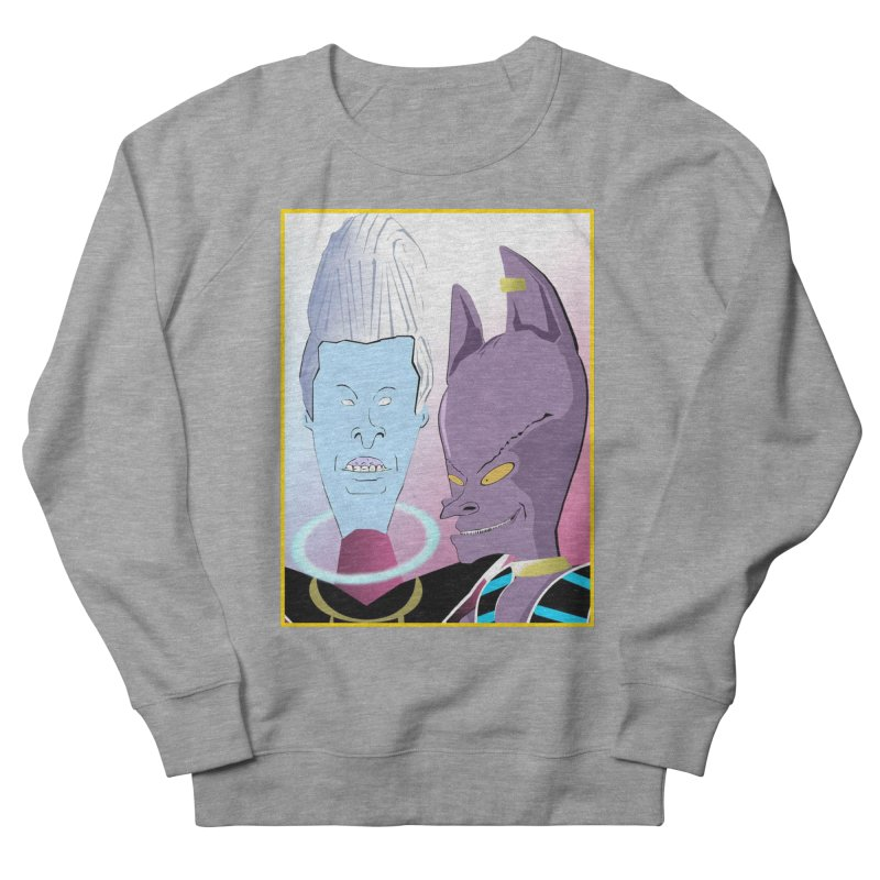 Lord Beavis and Whis-Head Women's French Terry Sweatshirt by TheImaginativeHobbyist's Artist Shop