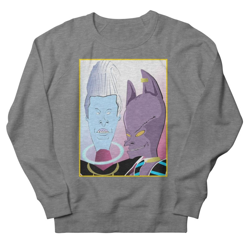 Lord Beavis and Whis-Head Men's Sweatshirt by TheImaginativeHobbyist's Artist Shop