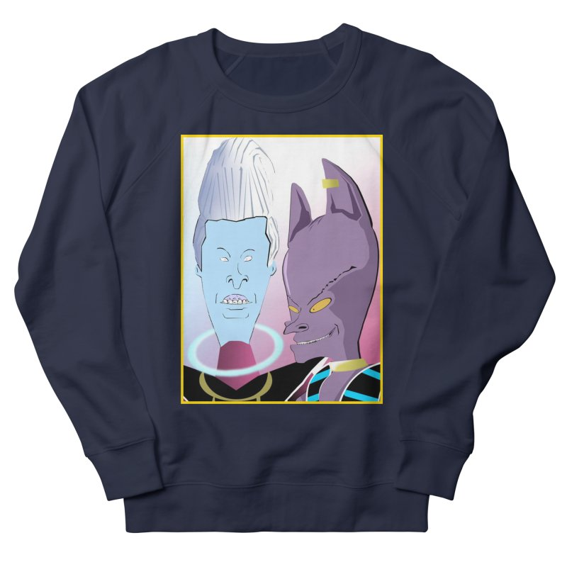 Lord Beavis and Whis-Head Men's French Terry Sweatshirt by TheImaginativeHobbyist's Artist Shop