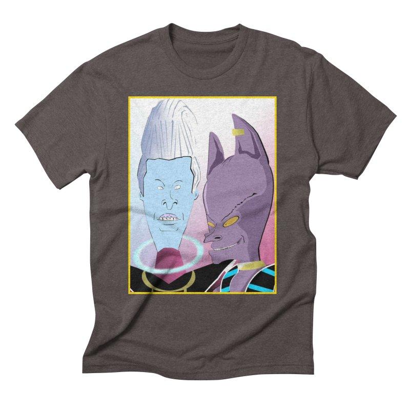 Lord Beavis and Whis-Head Men's Triblend T-Shirt by TheImaginativeHobbyist's Artist Shop