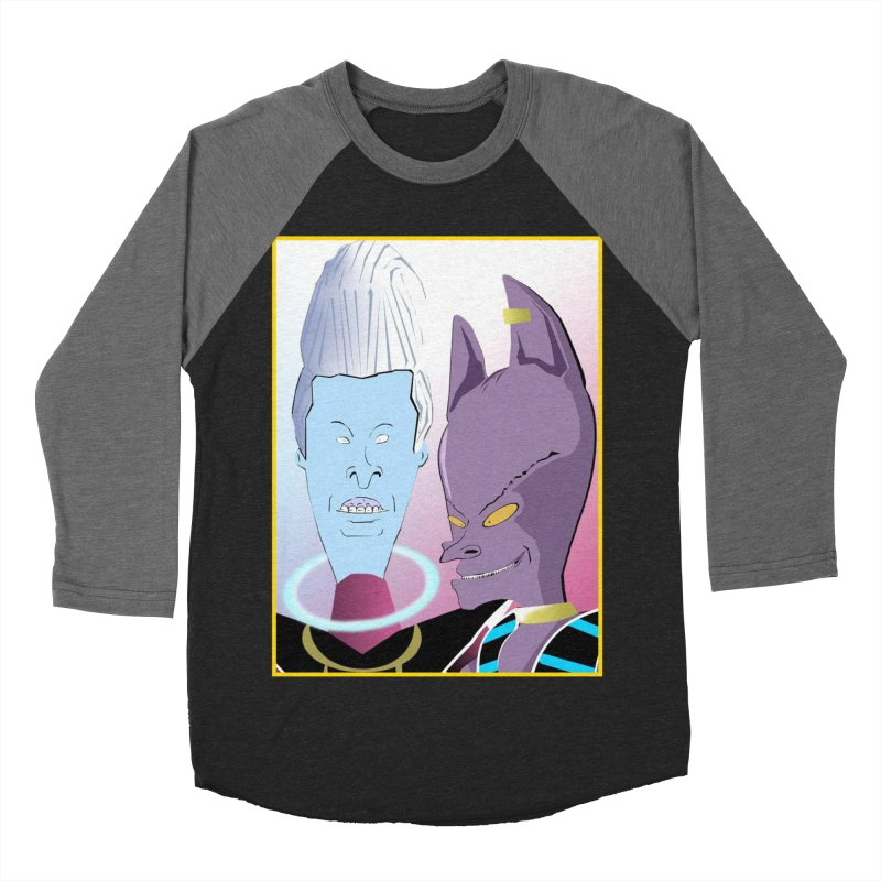 Lord Beavis and Whis-Head Women's Baseball Triblend Longsleeve T-Shirt by TheImaginativeHobbyist's Artist Shop