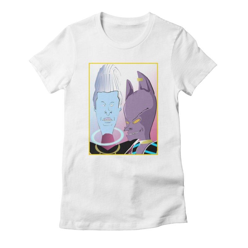 Lord Beavis and Whis-Head Women's T-Shirt by TheImaginativeHobbyist's Artist Shop