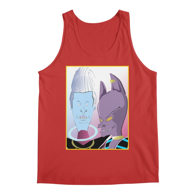Lord Beavis and Whis-Head Men's Tank by TheImaginativeHobbyist's Artist Shop