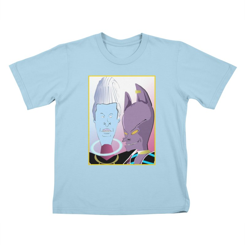 Lord Beavis and Whis-Head Kids T-Shirt by TheImaginativeHobbyist's Artist Shop