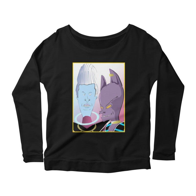 Lord Beavis and Whis-Head Women's Longsleeve T-Shirt by TheImaginativeHobbyist's Artist Shop