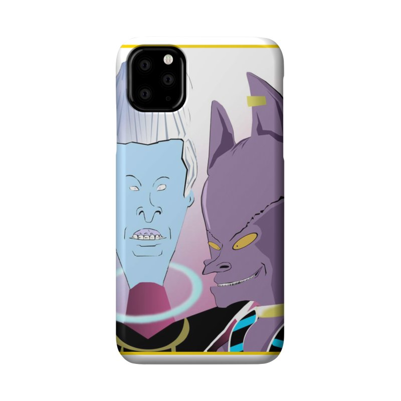 Lord Beavis and Whis-Head Accessories Phone Case by TheImaginativeHobbyist's Artist Shop