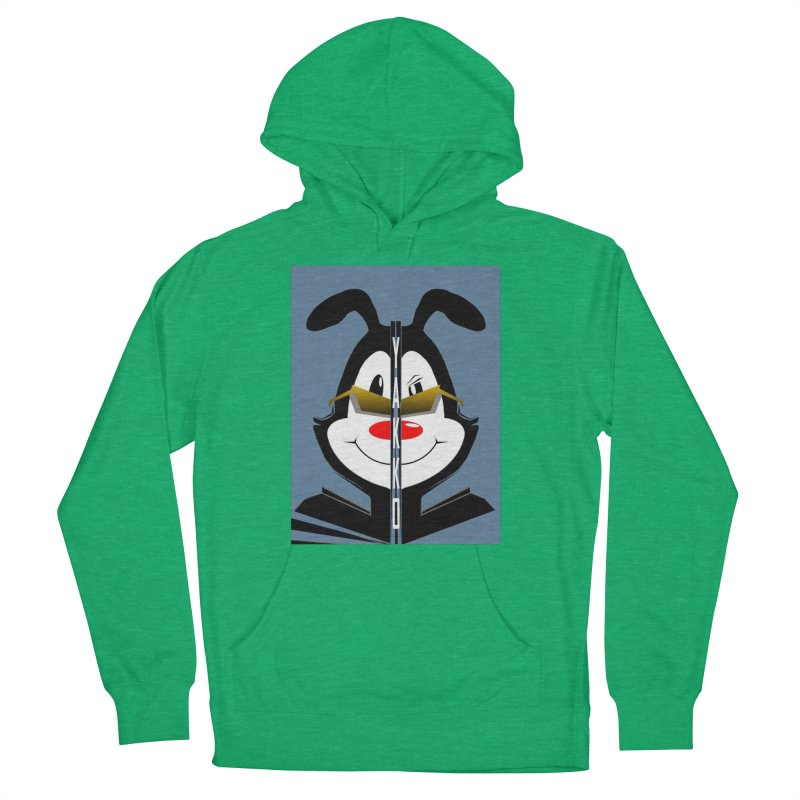 Yakko  Women's French Terry Pullover Hoody by TheImaginativeHobbyist's Artist Shop