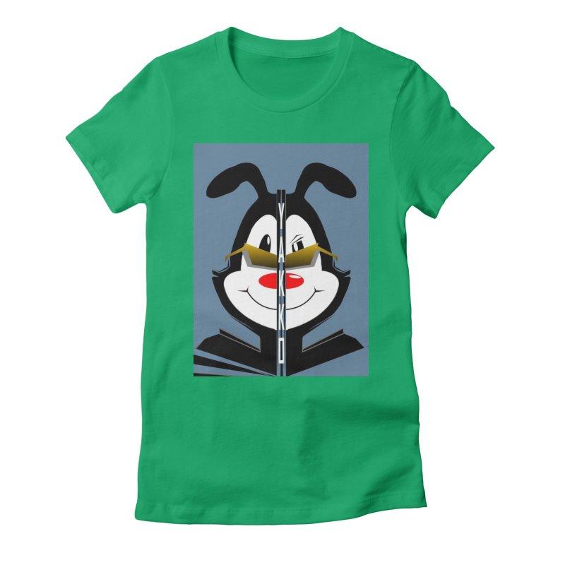 Yakko  Women's Fitted T-Shirt by TheImaginativeHobbyist's Artist Shop
