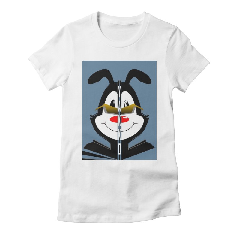 Yakko  Women's Fitted T-Shirt by TheImaginativeHobbyist's Artist Shop