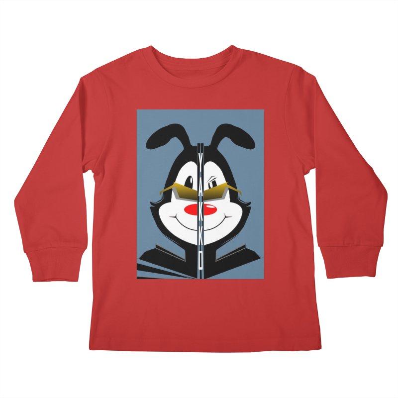 Yakko  Kids Longsleeve T-Shirt by TheImaginativeHobbyist's Artist Shop