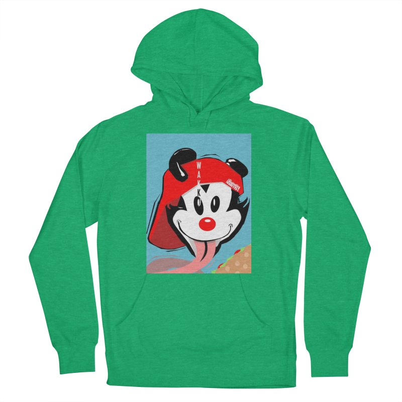 Wakko Women's French Terry Pullover Hoody by TheImaginativeHobbyist's Artist Shop