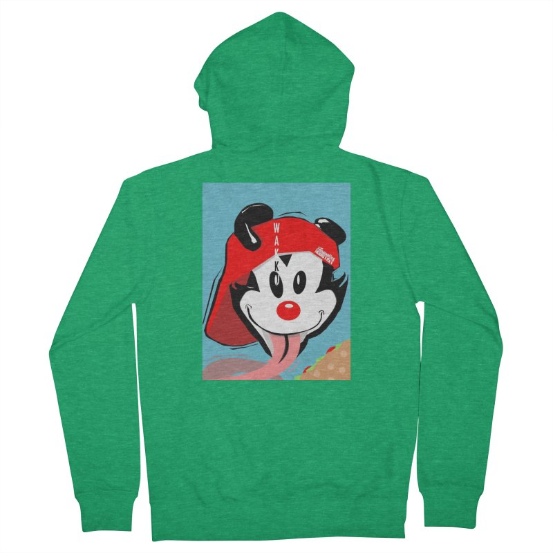 Wakko Women's Zip-Up Hoody by TheImaginativeHobbyist's Artist Shop