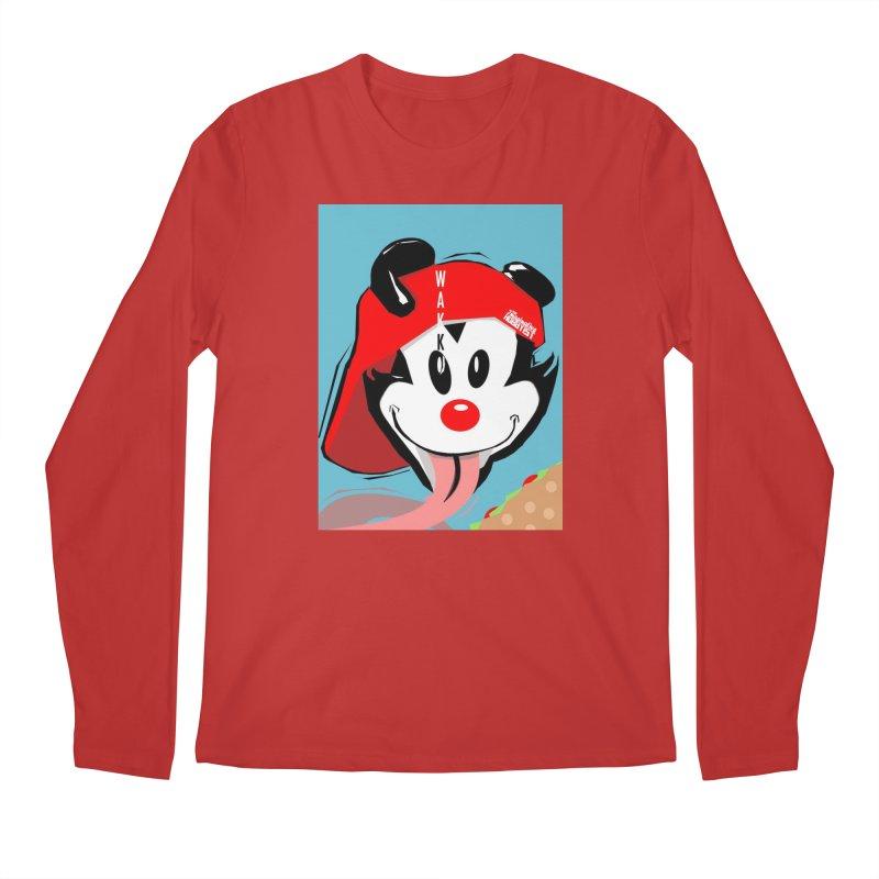 Wakko Men's Regular Longsleeve T-Shirt by TheImaginativeHobbyist's Artist Shop