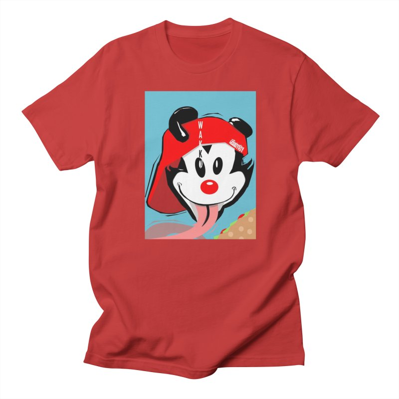 Wakko Women's Regular Unisex T-Shirt by TheImaginativeHobbyist's Artist Shop