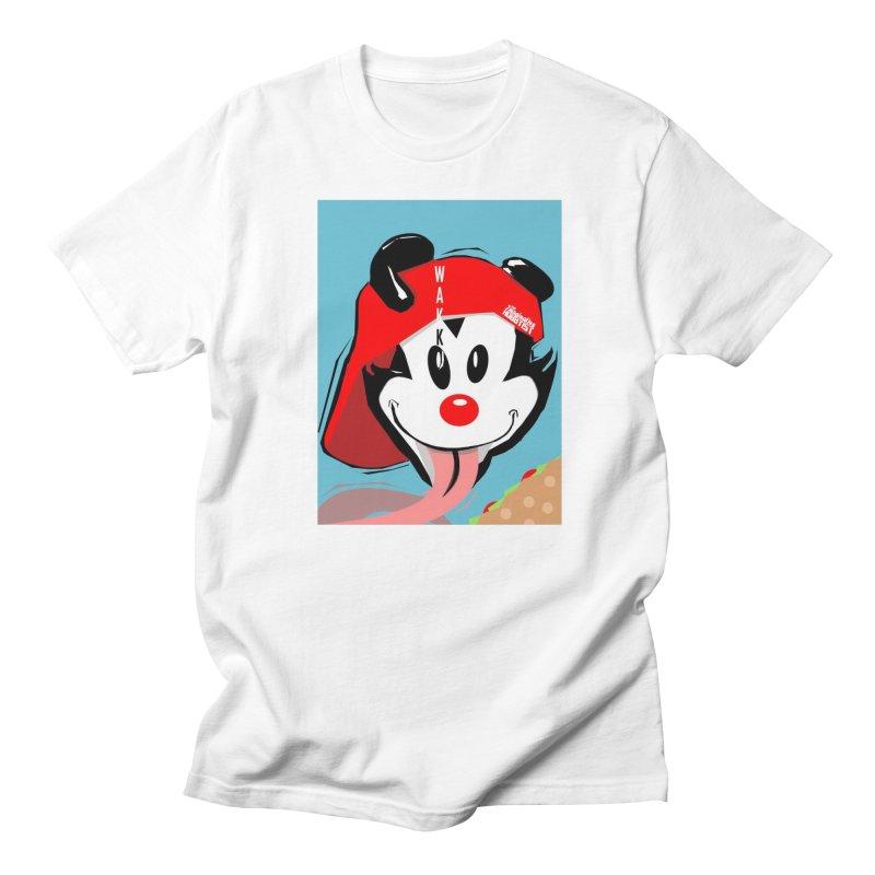 Wakko Men's Regular T-Shirt by TheImaginativeHobbyist's Artist Shop