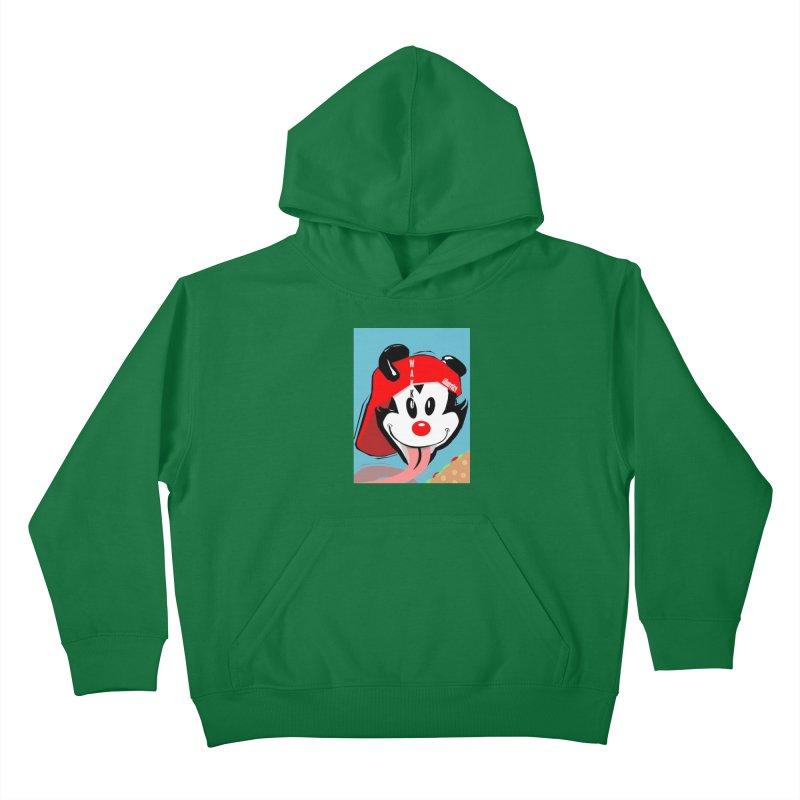 Wakko Kids Pullover Hoody by TheImaginativeHobbyist's Artist Shop