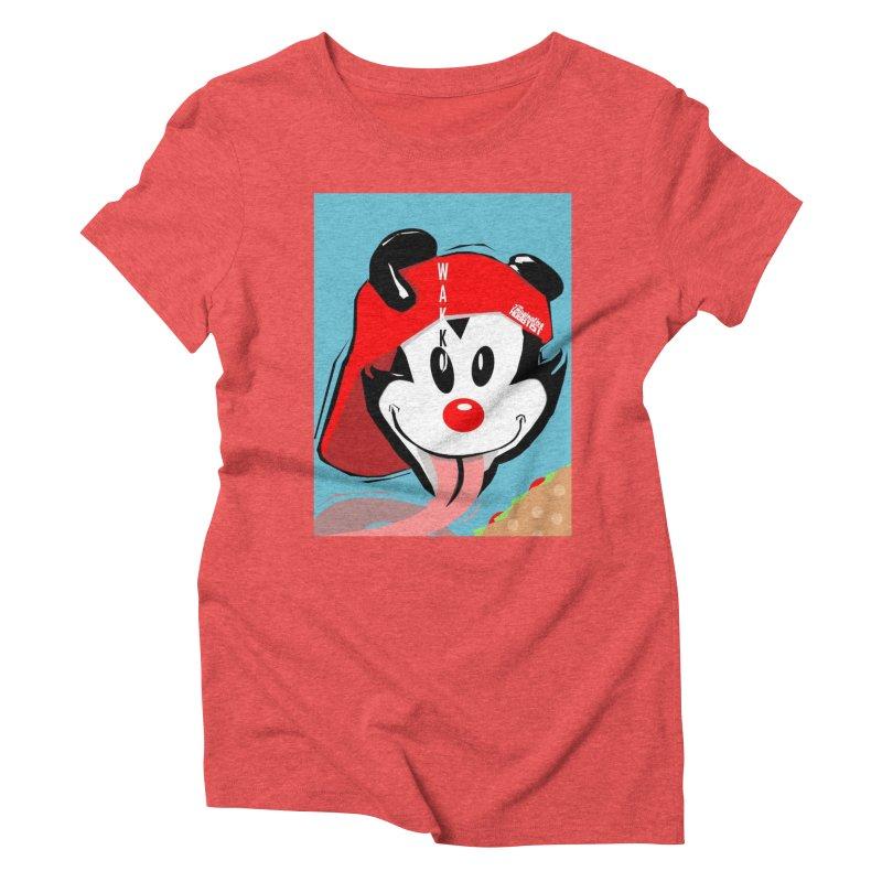 Wakko Women's Triblend T-Shirt by TheImaginativeHobbyist's Artist Shop