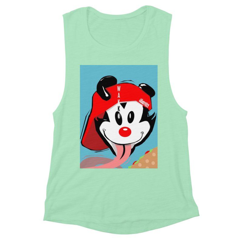 Wakko Women's Muscle Tank by TheImaginativeHobbyist's Artist Shop