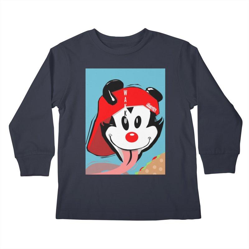 Wakko Kids Longsleeve T-Shirt by TheImaginativeHobbyist's Artist Shop