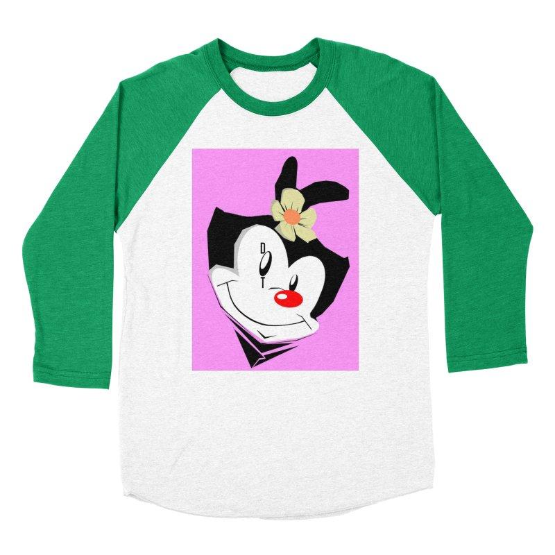 Dot Women's Baseball Triblend Longsleeve T-Shirt by TheImaginativeHobbyist's Artist Shop