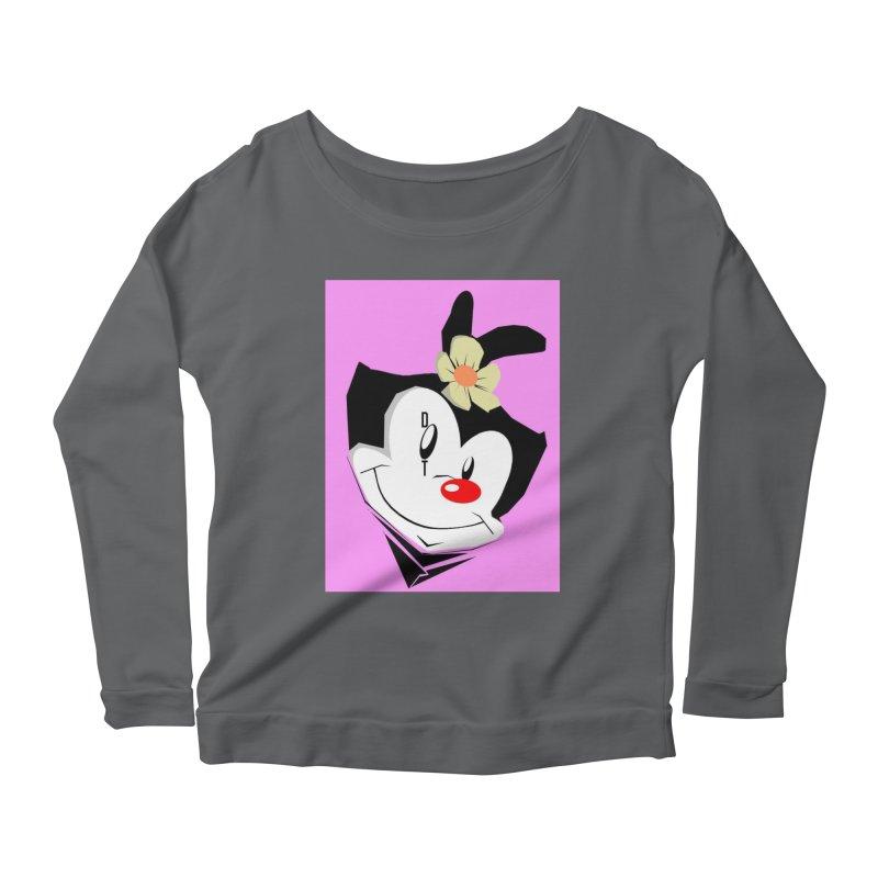 Dot Women's Scoop Neck Longsleeve T-Shirt by TheImaginativeHobbyist's Artist Shop