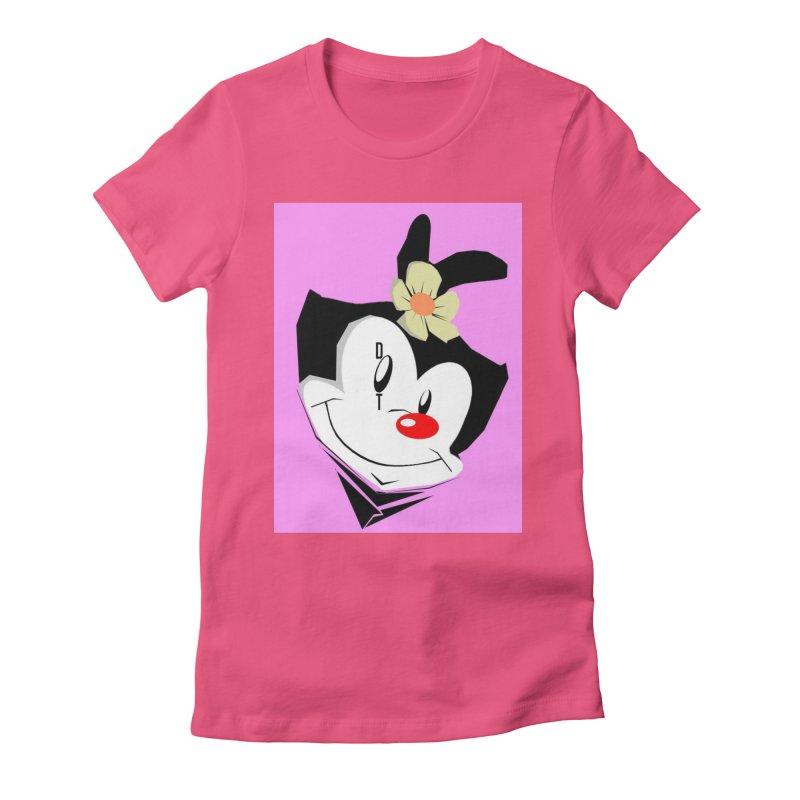 Dot Women's Fitted T-Shirt by TheImaginativeHobbyist's Artist Shop