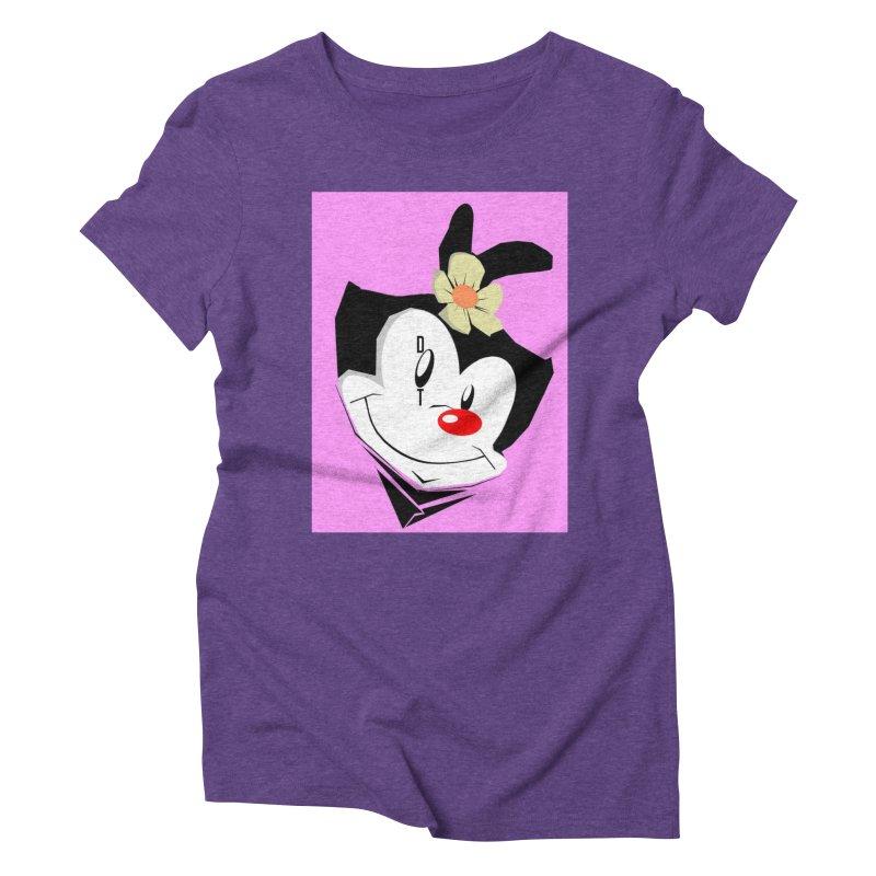 Dot Women's Triblend T-Shirt by TheImaginativeHobbyist's Artist Shop