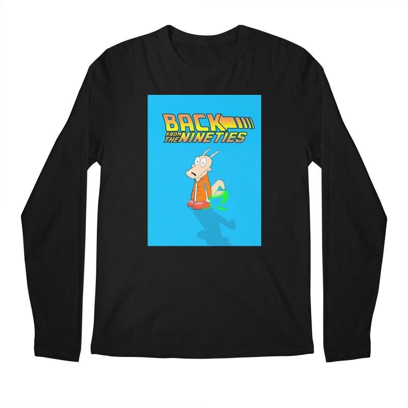 Back From The Nineties  Men's Regular Longsleeve T-Shirt by TheImaginativeHobbyist's Artist Shop