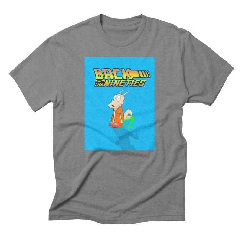 Back From The Nineties  Men's Triblend T-Shirt by TheImaginativeHobbyist's Artist Shop